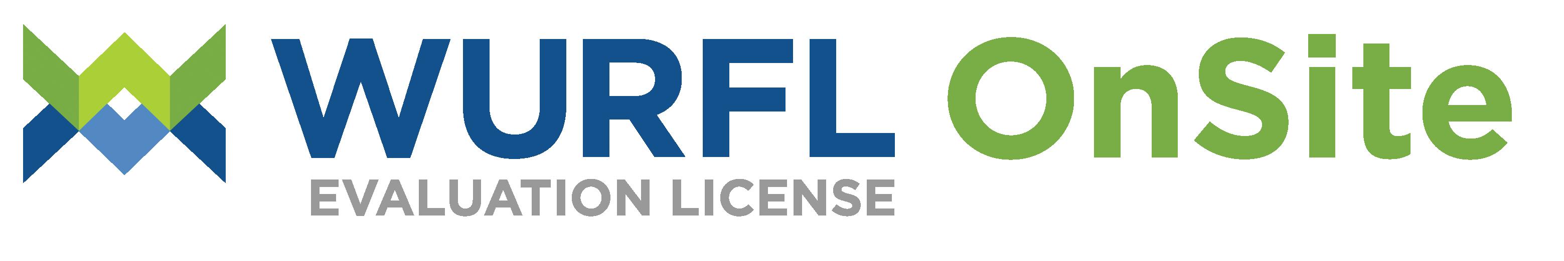 WURFLOnSite-WW-Evaluation-License