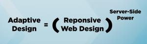 mobile web performance, adaptive design vs. responsive design